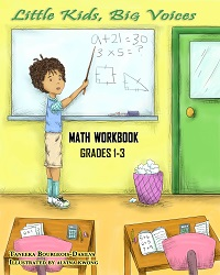 Math Workbook for Elementary students, fractions, arithmetic, decimals