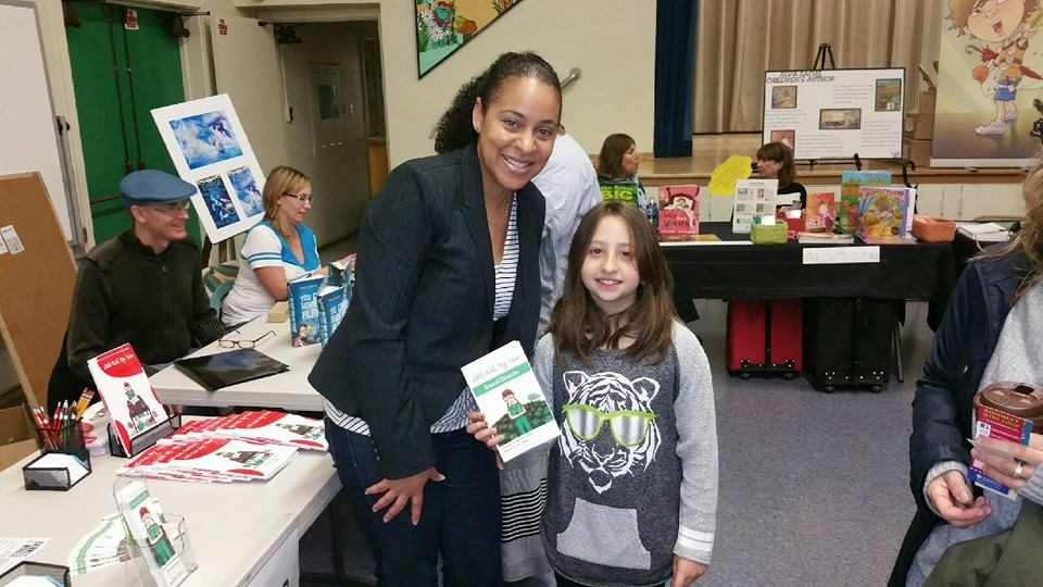 Building Voices CEO Taneeka Bourgeois-daSilva at Encino Charter Elementary