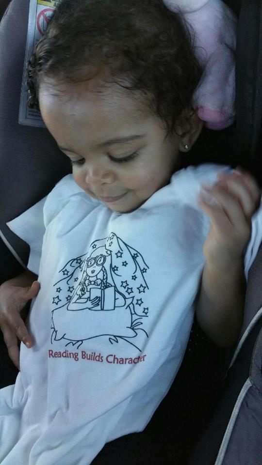 Reading Builds Character Baby Shirt Happy Customer
